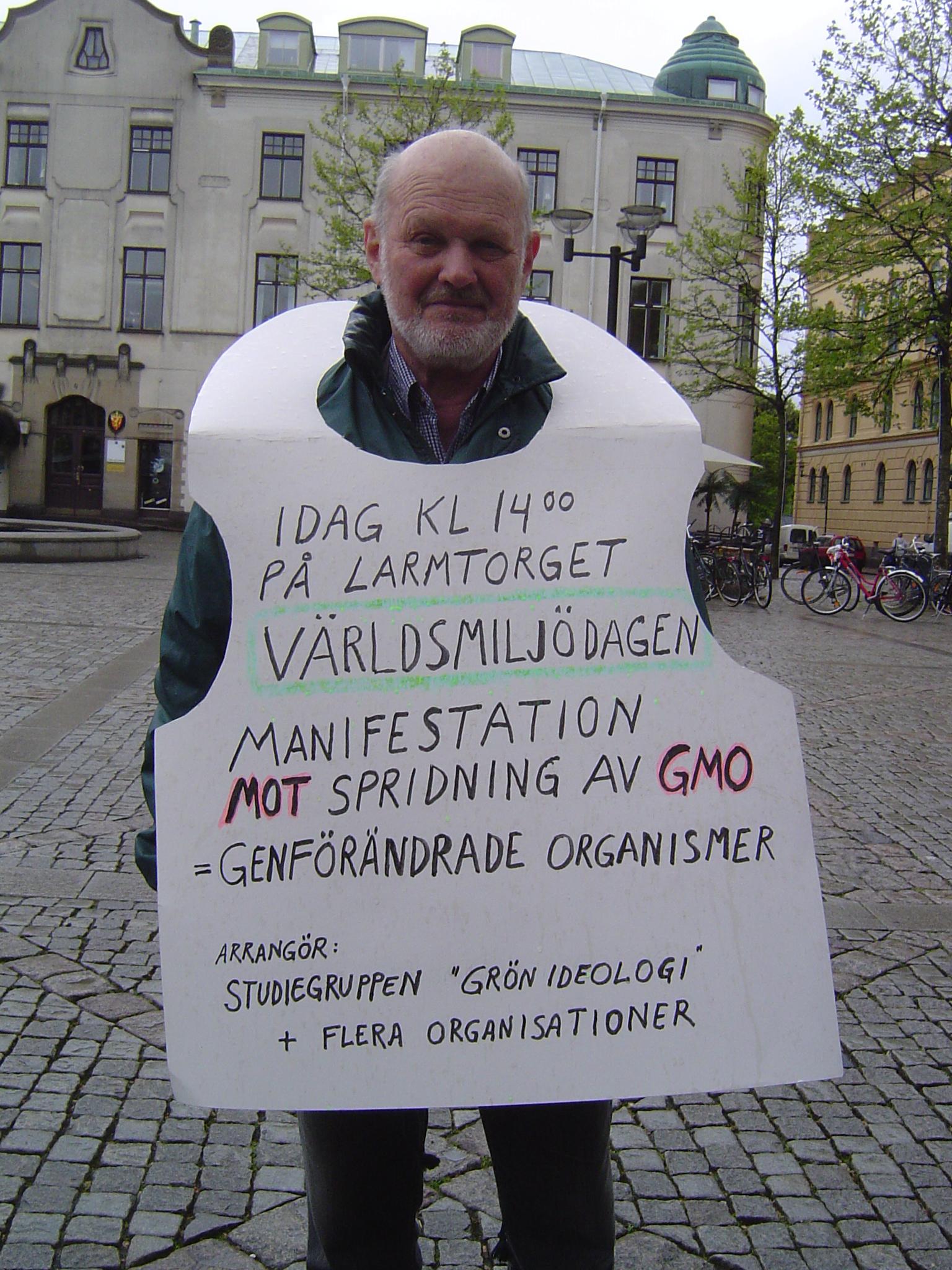 Stoppa manipulerad soja